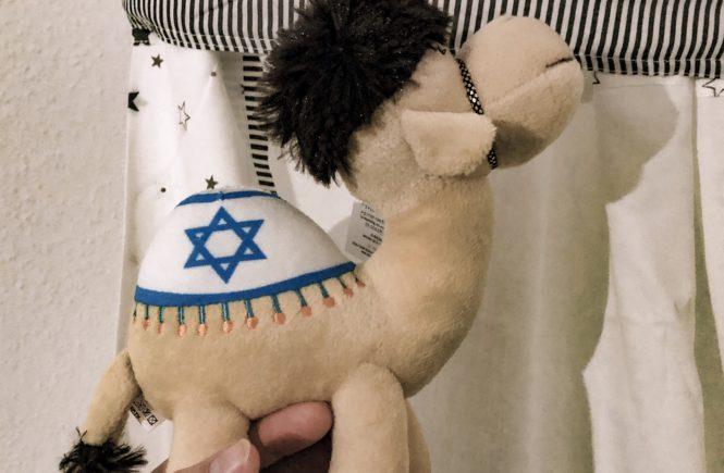 Souvenir aus Israel, Kuscheltier